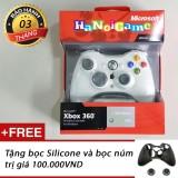 Giá Bán Tay Cầm Xbox 360 Khong Day Danh Cho Pc Trắng Hà Nội