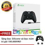 Bán Tay Chơi Game Xbox One S Kem Day Cap Usb Đen Có Thương Hiệu