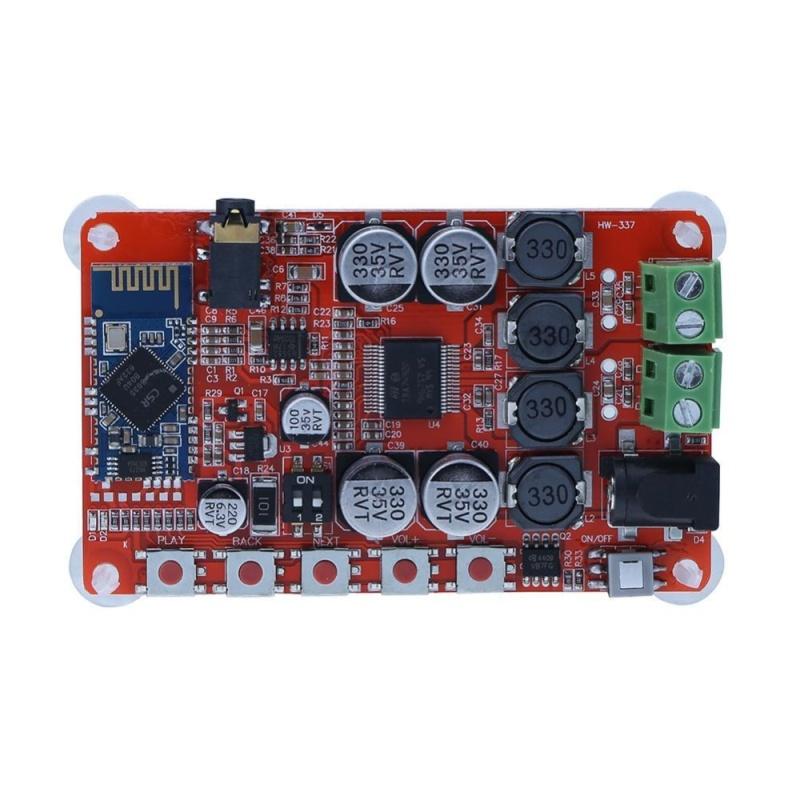 TDA7492P Kỹ Thuật Số Không Dây Bluetooth 4.0 Âm Thanh Kỹ Thuật Số Bảng Mạch Khuếch Đại (Nhiều Màu)-quốc tế