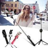 Tech Selfie Stick Extendable Bluetooth Tripod Controller Shutter for Phone New