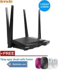 Chiết Khấu Tenda Ac6 Băng Tần Kep 1200 Mbps Wifi Router Wi Fi Repeater Khong Day Wifi Router 11Ac 2 4 Gam Khuyến Mại Chuột Wife Có Thương Hiệu