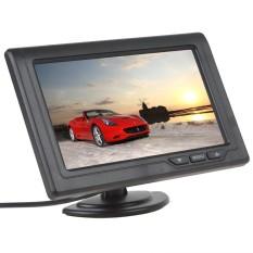 Hình ảnh Màn Hình TFT LCD 4.3 inch 480x272 Màu Sắc 2 Kênh Video Đầu Vào Phía Sau Xe Màn Hình Hỗ Trợ Đa -vai trò Hiển Thị (Đen) -quốc tế