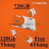 Thanh Sim 3G Vietnamobile Max Data Truy Cập 6 Thang Cà Mau Chiết Khấu 50