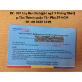 Ôn Tập Thẻ Nạp Data Mobifone Tặng 1000Mb Bộ 4 Cai Trong Hồ Chí Minh