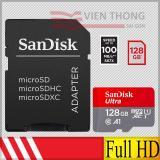 Ôn Tập Thẻ Nhớ 128Gb Microsdxc 100Mb S Sandisk Ultra Class10 Uhs1 Adapter