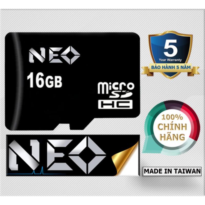 Thẻ nhớ 16GB NEO micro SDHC (Đen ) - Hãng phân phối chính thức
