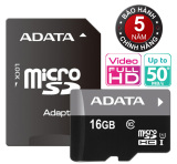 Mua Thẻ Nhớ 16Gb Tốc Độ Cao Up To 50Mb S Micro Sdhc Adata Uhs1 C10 Va Adapter Mới