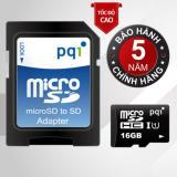 Bán Thẻ Nhớ 16Gb Tốc Độ Cao Up To 85 90 Mb S Pqi U1C10 Micro Sdhc Va Adapter Rẻ Trong Vietnam