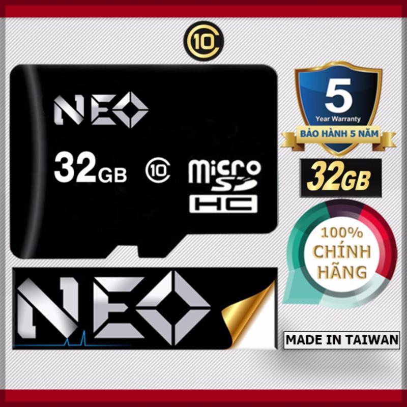 Thẻ nhớ 32GB NEO MicroSDHC Class 10 - Hãng phân phối chính thức