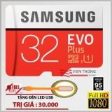 Giá Bán Thẻ Nhớ 32Gb Tốc Độ Cao Up To 95Mb S Microsdhc Samsung Evo Plus Mau Đỏ Đen Led Usb Nguyên