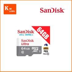 Ôn Tập Cửa Hàng Thẻ Nhớ 64Gb Micro Sdhc Ultra C10 80 Mb S Sandisk Chinh Hang Trực Tuyến