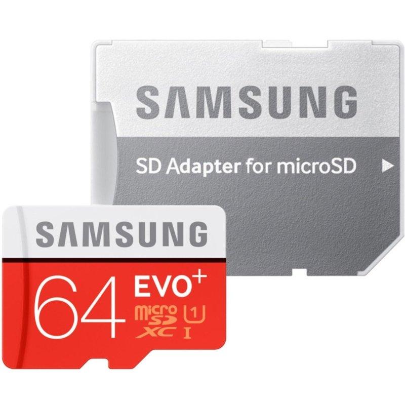 Thẻ nhớ 64gb tốc độ cao 80MB/s MicroSDXC Samsung Evo  (Đỏ)