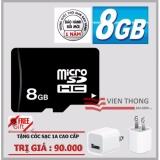 Cửa Hàng Thẻ Nhớ 8Gb Micro Sdhc Đen Tặng Coc Sạc 1A Trong Hồ Chí Minh