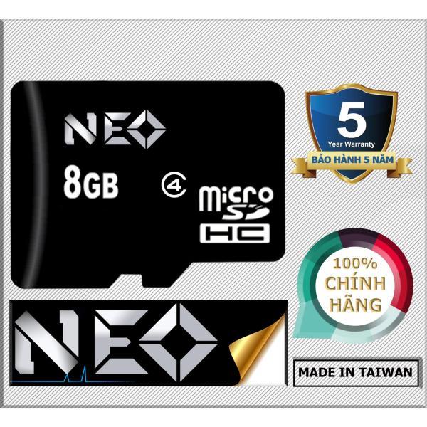 Thẻ nhớ 8GB NEO micro SDHC ( Đen)  - Hãng phân phối chính thức