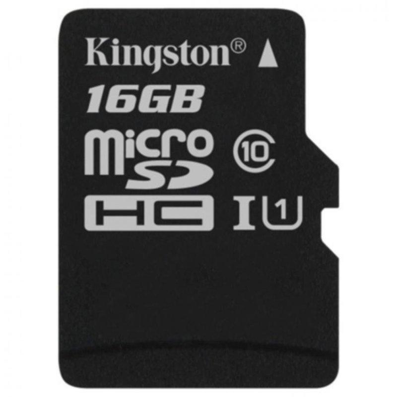 Thẻ nhớ Kingston MicroSD 16GB Class 10 UHS-1 R80 (Tốc Độ Đọc 80MB/s)