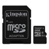 Bán Thẻ Nhớ Kingston Microsd 16Gb Class 10 Uhs I Co Adapter Sd Tốc Độ Đọc 80 Mb S Có Thương Hiệu