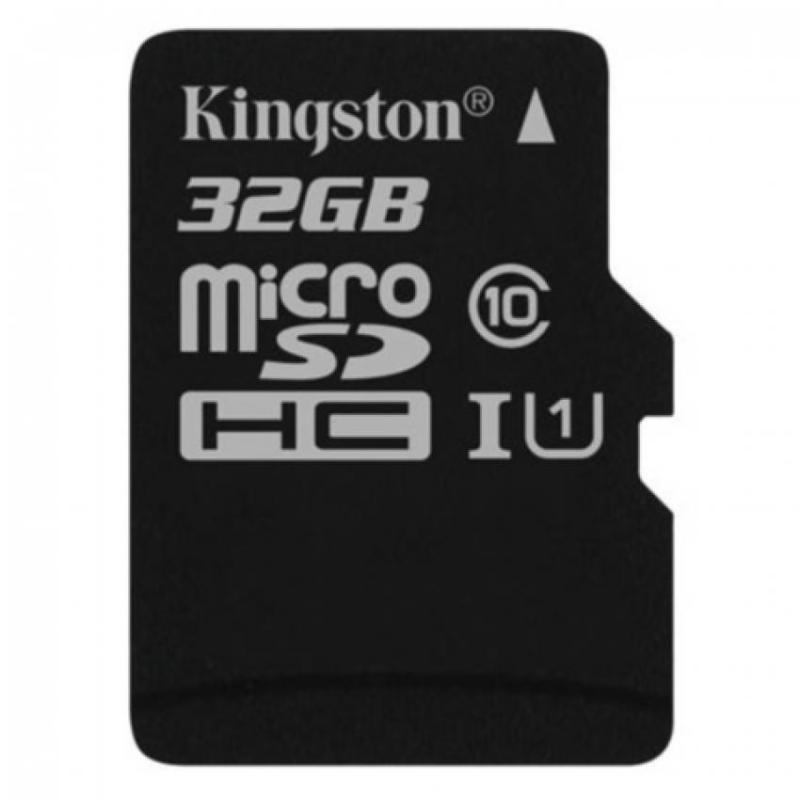 Thẻ nhớ Kingston MicroSD 32GB Class 10 UHS-1 R80 (Tốc Độ Đọc 80MB/s)