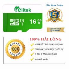 Ôn Tập Thẻ Nhớ Elitek Micro Sd 16Gb Hồ Chí Minh