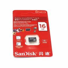 Mua Thẻ Nhớ Sandisk 16Gb Class 10 Tốc Độ Đọc Dữ Liệu Vượt Trội Lưu Giữ Hinh Ảnh Sieu Nhanh Micro Sd Nguyên