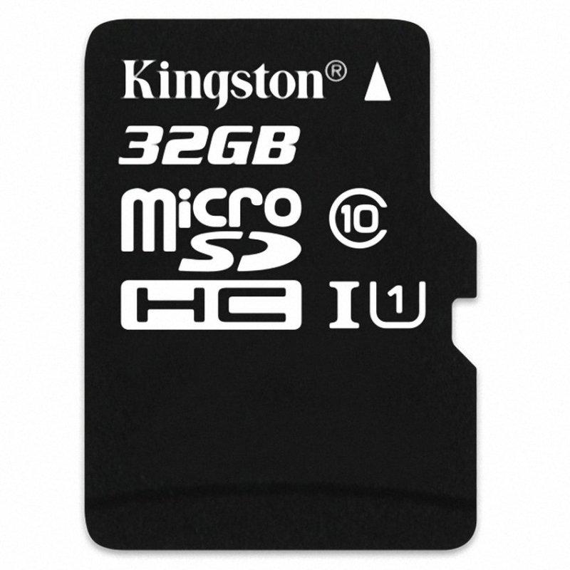 Thẻ nhớ Micro SD Kingston T-Flash card 32GB (Đen)
