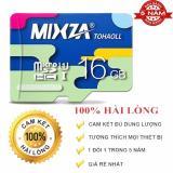 Mua Thẻ Nhớ Micro Sd Mixza 16Gb Class 10 Tốc Độ Đọc 80Mb S Bh 60 Thang Mixza Nguyên