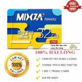 Bán Mua Trực Tuyến Thẻ Nhớ Micro Sd Mixza 32Gb Class 10 Tốc Độ Đọc 80Mb S Bh 60 Thang Tặng Kem Đọc Thẻ Xoay