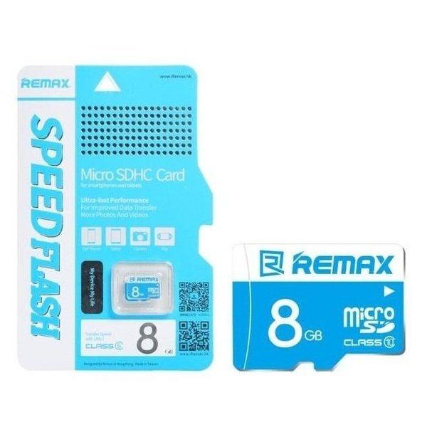 Thẻ nhớ micro SD Remax 8GB (Xanh)