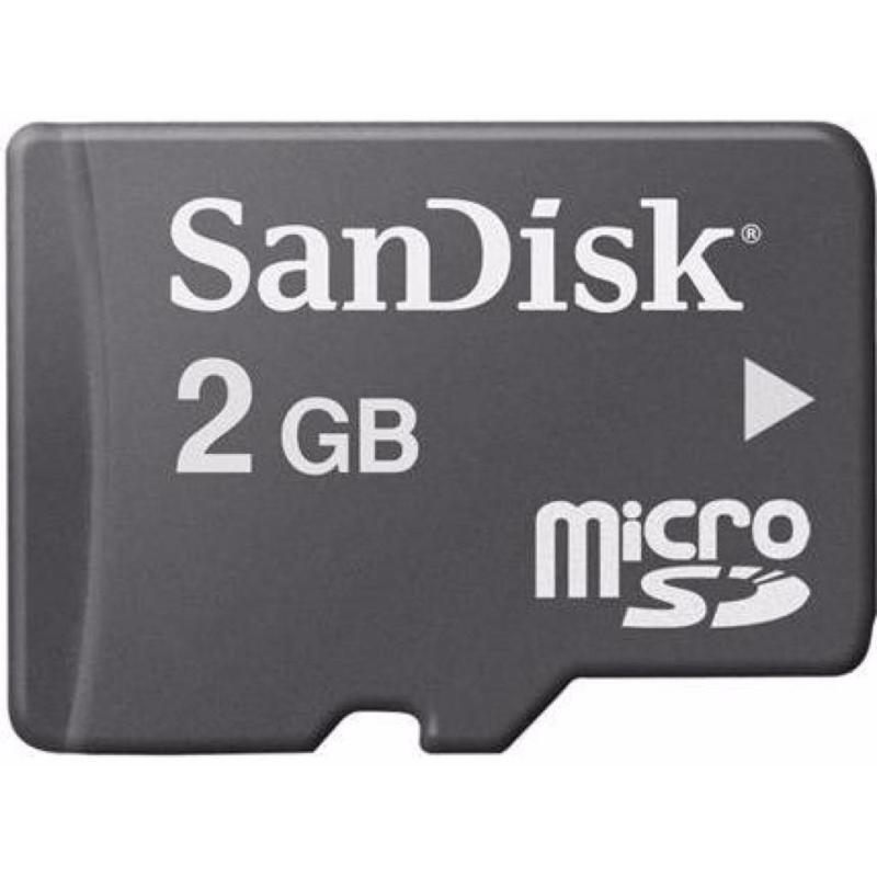 Thẻ Nhớ Micro SD SanDisk 2GB Class 4