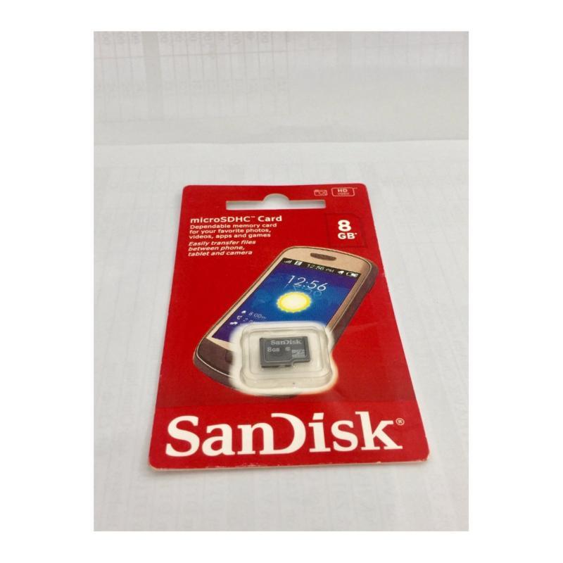 Thẻ Nhớ Micro SD SanDisk 8gb Box Class10 (Đỏ)