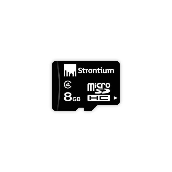 Thẻ nhớ Micro SD Strontium  8GB (Đen)