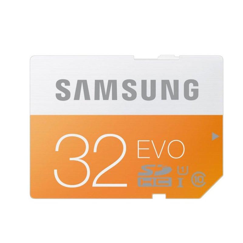 Thẻ nhớ Micro SDHC Samsung EVO CLASS 10 32GB (Vàng)