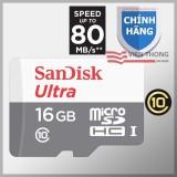 Bán Thẻ Nhớ 16Gb Sandisk Tốc Độ 80Mb S Micro Sdhc Ultra Class 10 Hangphanphối Chinh Thức Sandisk Trực Tuyến