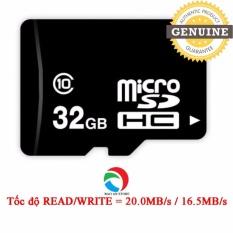 Cửa Hàng Thẻ Nhớ Microsd 32Gb Class 10 Tốc Độ Read Write 20Mb S 16 5Mb S Rẻ Nhất