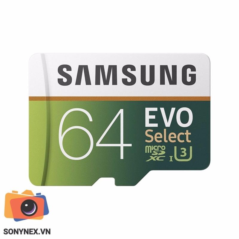 Thẻ nhớ MicroSD Evo Select Samsung 64 GB | Hàng nhập khẩu | Thị trường USA