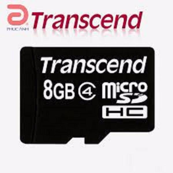 Thẻ nhớ microSD HC 8GB Class 4 Transcend