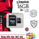 Thẻ Nhớ Microsd Kington 16G Phan Phối Chinh Thức Tặng Đầu Đọc Thẻ Chiết Khấu Hồ Chí Minh