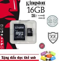 Bán Thẻ Nhớ Microsd Kington 16G Phan Phối Chinh Thức Tặng Đầu Đọc Thẻ Có Thương Hiệu Rẻ