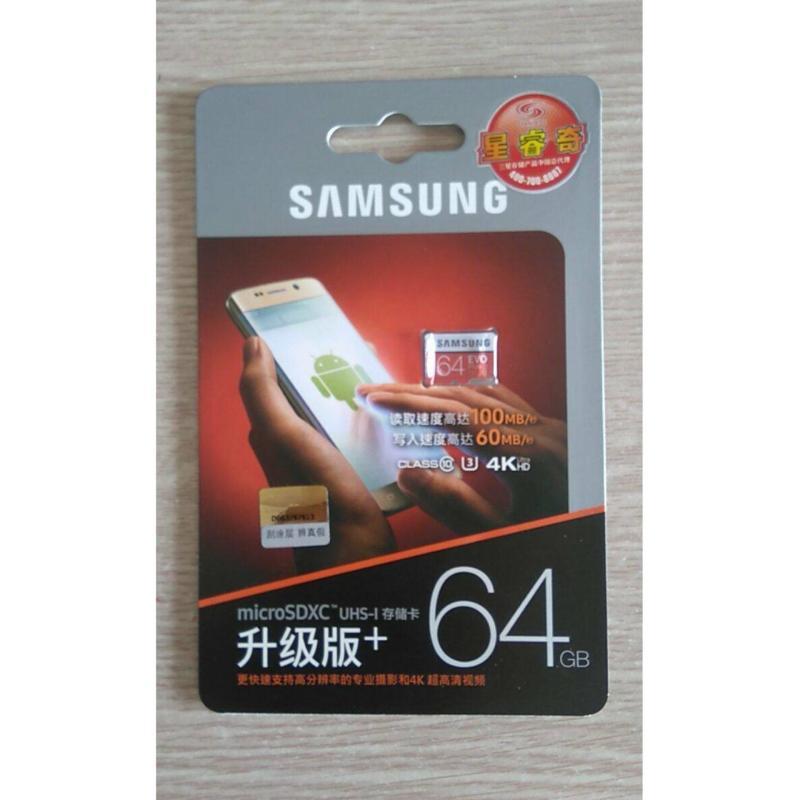 Thẻ nhớ MicroSD Samsung Evo Plus 64GB 100MB/S