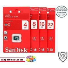 Bán Thẻ Nhớ Microsd Sandisk 8G Phan Phối Chinh Thức Tặng Đầu Đọc Thẻ Usb Trực Tuyến Trong Hồ Chí Minh