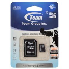 Mua Thẻ Nhớ Microsd Team Class 10 16Gb Tặng Kem Adapter Rẻ