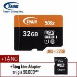 Mã Khuyến Mại Thẻ Nhớ Microsd Team Uhs I 32Gb Nhanh Hơn Class 10 Tặng Kem Adapter Trong Hồ Chí Minh
