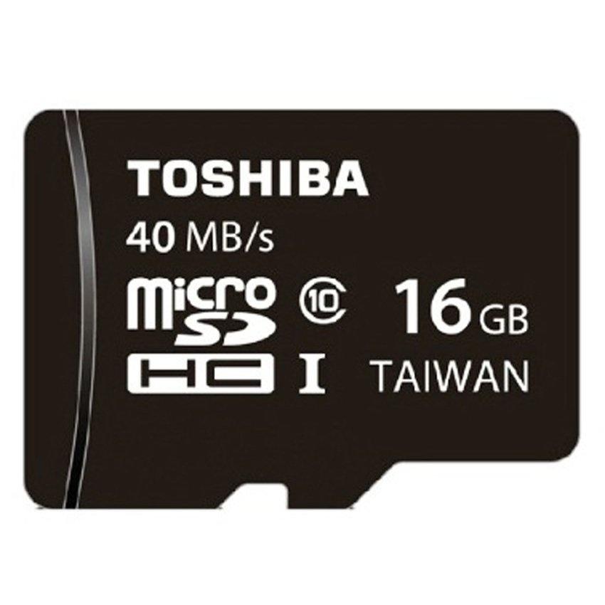 Thẻ Nhớ Microsd Toshiba 40Mb/s Class 10 16Gb