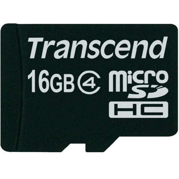 Thẻ nhớ MicroSD Transcend 16GB Class 4