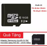 Cửa Hàng Thẻ Nhớ Microsdhc Noname 16Gb Uhs I U3 Hỗ Trợ 4K Đen Tặng Kem Adapter Samsung Va Hộp Thẻ Hồ Chí Minh