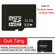 Bán Thẻ Nhớ Microsdhc Noname 32Gb Uhs I U3 Hỗ Trợ 4K Đen Tặng Kem Adapter Samsung Va Hộp Thẻ No Brand Trực Tuyến