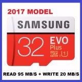 Giá Bán Thẻ Nhớ Microsdhc Samsung Evo Plus 32Gb 95Mb S New 2017 Samsung Tốt Nhất