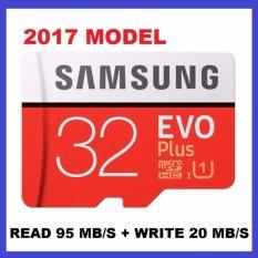 Thẻ Nhớ MicroSDHC Samsung EVO Plus 32GB 95MB/s (New 2017) Giá Hot Siêu Giảm tại Lazada