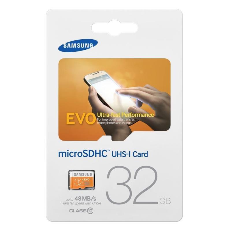 Thẻ nhớ MicroSDHC Samsung EVO 32GB tốc độ 48MB/s