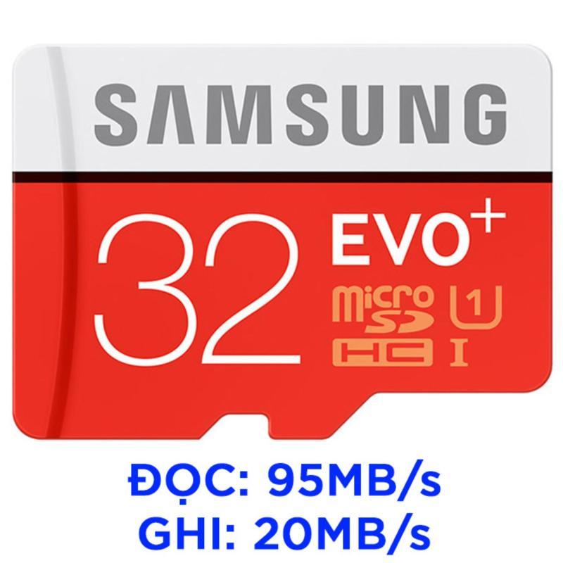 Thẻ nhớ MicroSDHC Samsung EVO Plus 32GB tốc độ 95MB/s