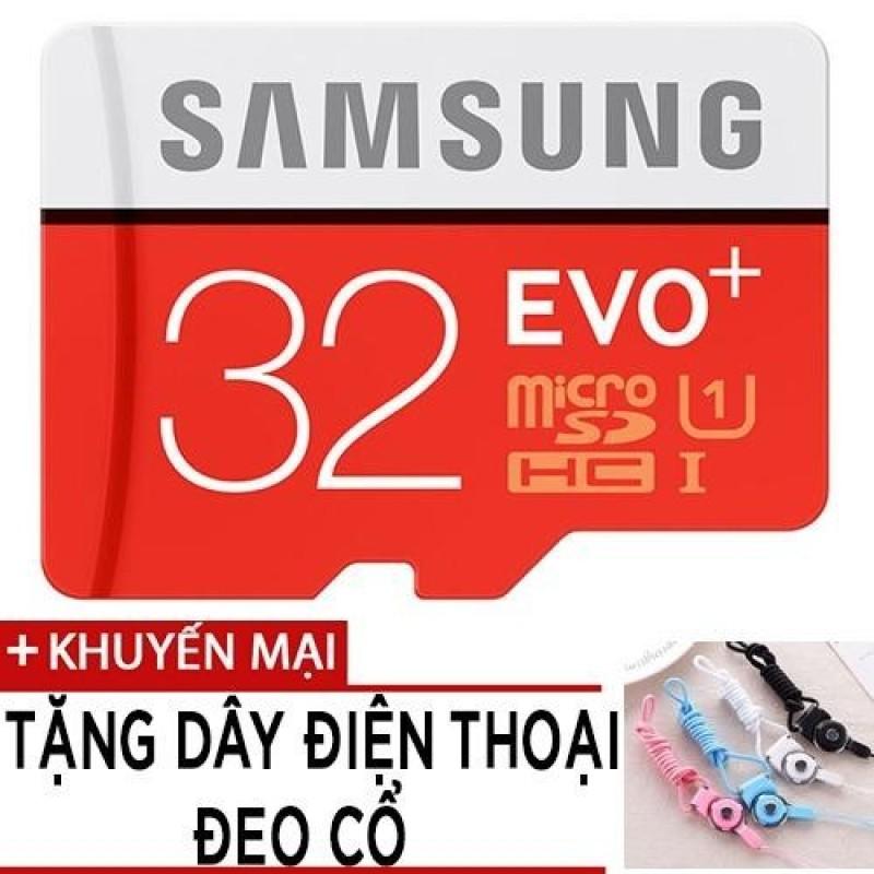 Thẻ nhớ MicroSDHC Samsung EVO Plus 32GB tốc độ 95MB/s tặng dây đeo điện thoại
